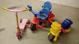 Lote juguetes de ruedas para 3-6 años