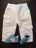 Pantalones y zapatillas bebe