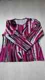 Jersey Rosa y Negro. Talla XXL(damadi84)