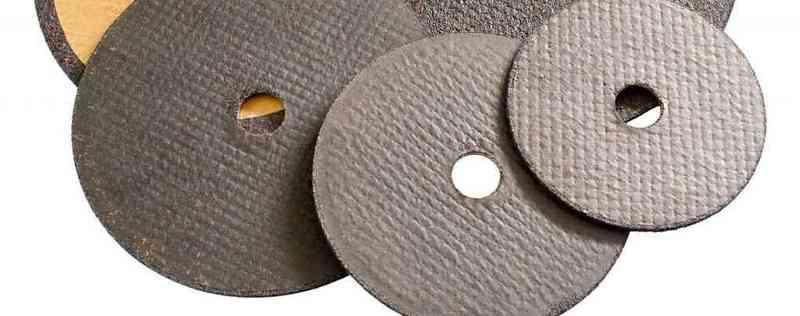 Discos de radial desgastados