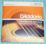 Juego Completo de Cuerdas Metálicas de Guitarra Acústica Pequeña.