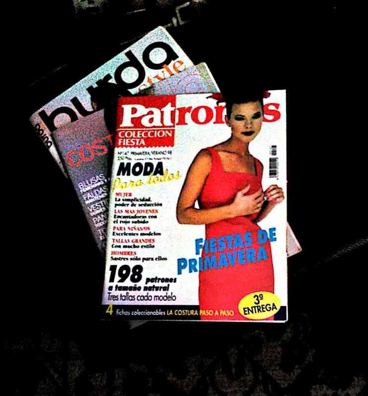 revistas de moda y patrones
