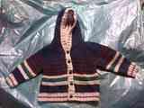 chaqueta c/capucha t- 9-12 Regalo