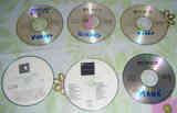 Seis Cds de Música.
