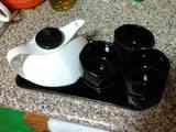 Juego de té de cerámica