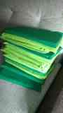 13 cojines verdes
