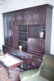 Mueble salón-comedor de chapa de madera