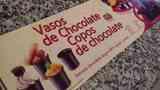 Caja de vasos de Chocolate