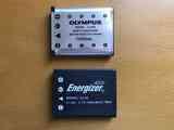 Baterías Olimpus modelo 42B y Energizer OL40