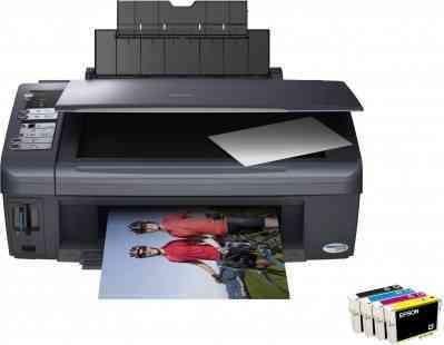 Cartucho de tinta para impresora Epson Stylus DX7400