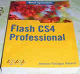 Grueso Libro Informático Sobre Flash Cs4 Profesional.
