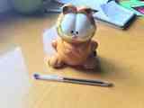 Hucha de Garfield de cerámica