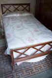 Cama de madera 105 cm