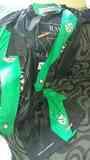 Camisetas negras y verde del Rayo Ciudad Alcobendas