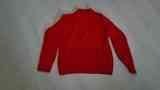 Jersey rojo de lana, talla L