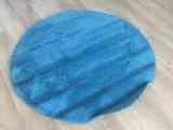 Regalo alfombra azul redonda Ikea