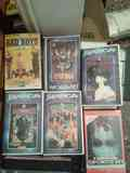 Cartón de peliculas VHS (manga y acción) lengua frances , regalo