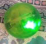 pelota con luces leds, pequeña (loke)