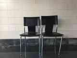 Regalo 2 sillas polipiel negras