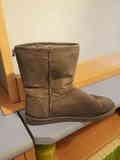 Botas grises talla 37