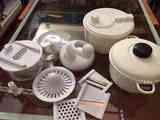 Regalo olla microondas, escurridor de verduras y robot cocina manual