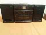 Radio con cassete y cd