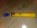 Tenedor electrónico sin uso