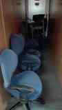 SOLO HOY. Se regalan 8 sillas de oficina.