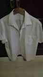 Camisa de hombre manga corta con rayitas Talla 44