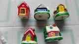 5 velas de casitas