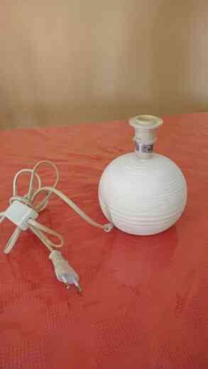 Pie de lampara ceramico