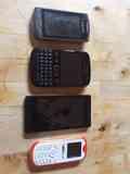 Telefonos viejos Samsung, Blackberry, Boqo, BIC