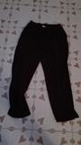 Pantalon marron de gomas talla 54(angeladanza)
