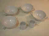 Objetos de cocina de porcelana