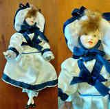 Muñeca de cerámica pequeña