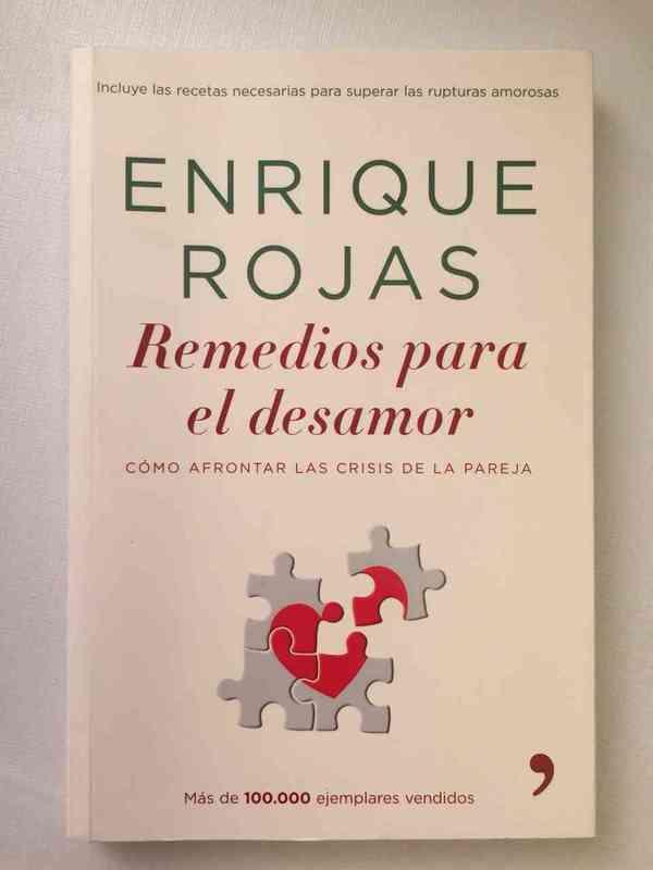 """Regalo libro: """"Remedios para el desamor"""", autor: Enrique Rojas"""