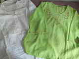 Blusa talla L y camisón mujer