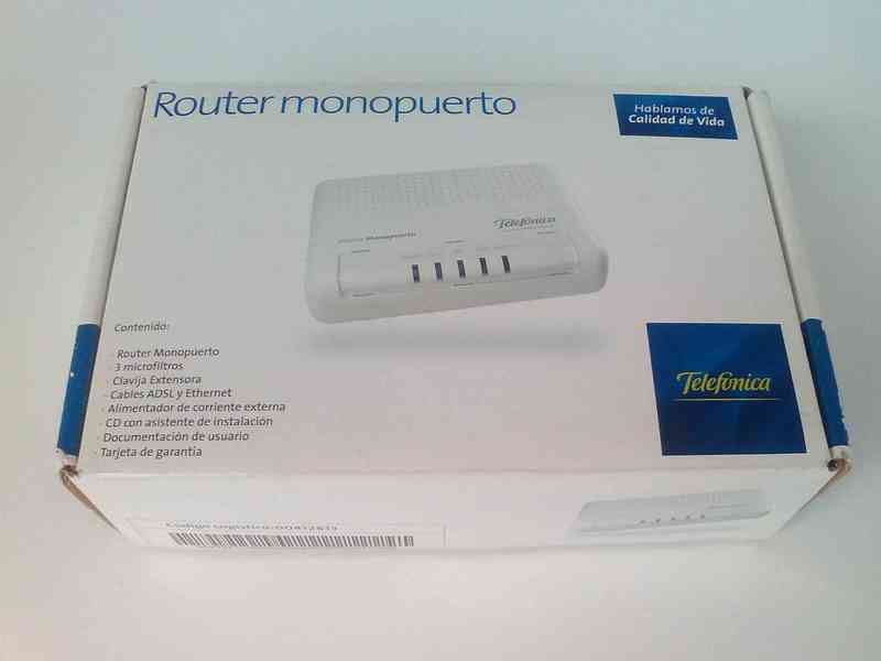 Router ADSL monopuerto
