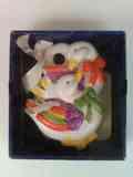 Patos de cerámica de adorno