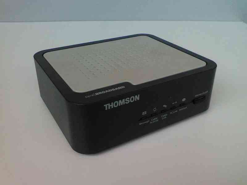 Cablemódem Thomson TCM420
