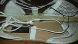Zapatos de verano  se atan al tobillo