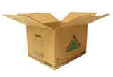 5 cajas de cartón PLUS 72 LITROS