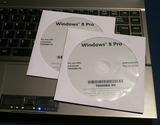 DVD Windows 8 Pro OEM Toshiba