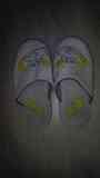 Zapatillas blancas de estar por casa