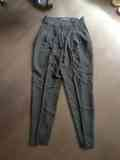 Pantalon Zara pinzas negro
