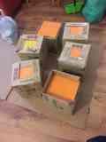 Alicatado, baldosas naranjas y amarillas (¡nuevas!)