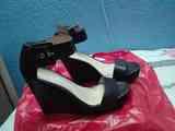 Regalo sandalias de plataforma negras talla 38