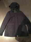 Abrigo azul marino Zara talla S