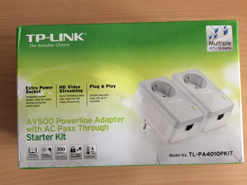 Power line adapter