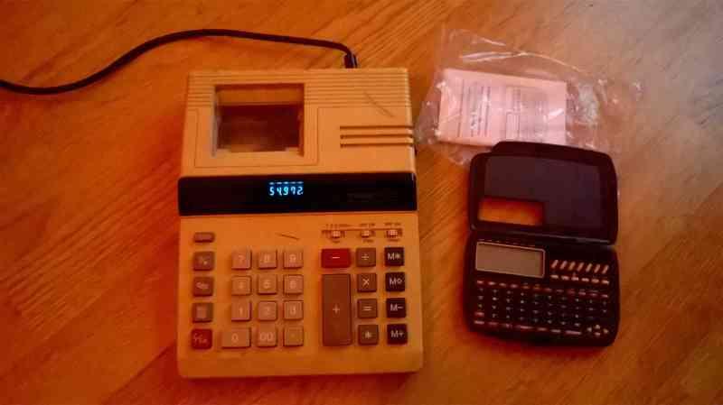 calculadora y agenda